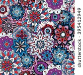 seamless pattern texture.... | Shutterstock .eps vector #395412949