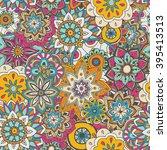 seamless pattern texture.... | Shutterstock .eps vector #395413513