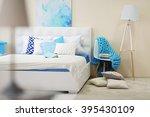 bedroom interior in light tones ... | Shutterstock . vector #395430109