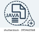 flat vector illustration. java... | Shutterstock .eps vector #395463568