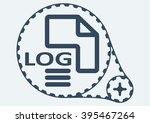 flat vector illustration. log...