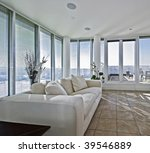 massive luxury living room with ...   Shutterstock . vector #39546889