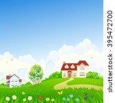 vector cartoon illustration of... | Shutterstock .eps vector #395472700