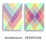 abstract geometric pattern with ... | Shutterstock .eps vector #395493106