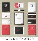 mock up vector set. | Shutterstock .eps vector #395500543