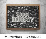 manufacuring concept  steel...   Shutterstock . vector #395506816