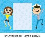 vector illustration. happy... | Shutterstock .eps vector #395518828