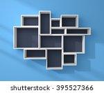 3d rendered composition of... | Shutterstock . vector #395527366