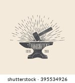 handcrafted. vintage styled... | Shutterstock .eps vector #395534926