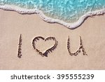 I Love You   Handwritten On A...