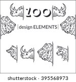 vector set of line design...   Shutterstock .eps vector #395568973