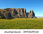 alpe di siusi   Shutterstock . vector #395569510