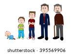 man growth | Shutterstock .eps vector #395569906