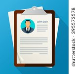 concept of human resources... | Shutterstock .eps vector #395573578