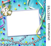 card for congratulation on... | Shutterstock . vector #39557785