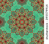 Seamless  Eastern Pattern Of...