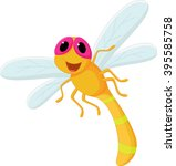 Cute Dragonfly Cartoon