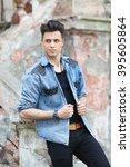 handsome guy | Shutterstock . vector #395605864