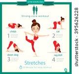 sport and fitness infographics. ... | Shutterstock .eps vector #395626228