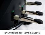 close up image of three pedals... | Shutterstock . vector #395636848