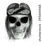 Skull Print Skull Illustration...