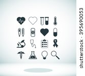 medical icons | Shutterstock .eps vector #395690053