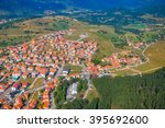 helicopter aerial view of the... | Shutterstock . vector #395692600