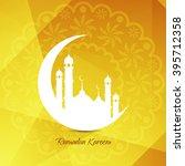 religious background design for ... | Shutterstock .eps vector #395712358