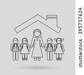 insurance concept design  | Shutterstock .eps vector #395737624