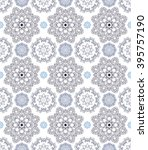 seamless pattern  vector... | Shutterstock .eps vector #395757190