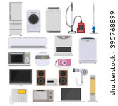 consumer electronics icon | Shutterstock .eps vector #395768899
