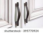 door furniture handles and... | Shutterstock . vector #395770924