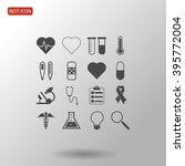 medical icons | Shutterstock .eps vector #395772004