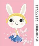 Fashion Cute Rabbit
