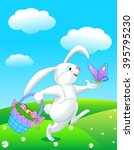 Pretty Easter Bunny Runs With...