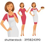 house wife | Shutterstock .eps vector #395824390