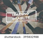 learning disability special... | Shutterstock . vector #395832988