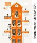 lovely education infographic... | Shutterstock .eps vector #395834464