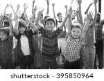 students children cheerful...   Shutterstock . vector #395850964
