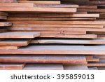 Stack Of Wood Planks Background....