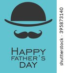 father day greeting card.... | Shutterstock .eps vector #395873140