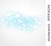 abstract technology background ... | Shutterstock . vector #395916244