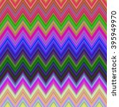 colored  horizontal chevron... | Shutterstock .eps vector #395949970