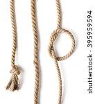 knot of jute rope | Shutterstock . vector #395959594
