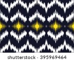geometric ethnic oriental ikat... | Shutterstock .eps vector #395969464