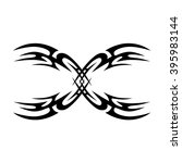 tattoo tribal vector design... | Shutterstock .eps vector #395983144
