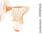 scoring the winning points at a ... | Shutterstock . vector #395989618