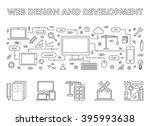 line design concept web banner...
