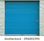 self storage door. life style ... | Shutterstock . vector #396002590