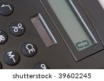 calculator detail | Shutterstock . vector #39602245